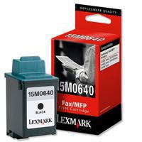 Lexmark SF3000/SF4200 Inkjet Cartridge Black 15M0640
