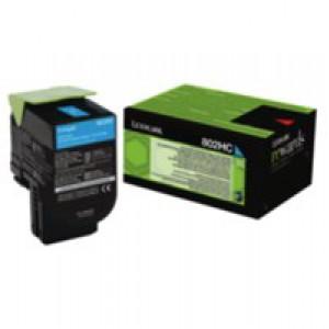 Lexmark Cyan Rp Tnr Cart Hy 80C2Hc0 Pk1