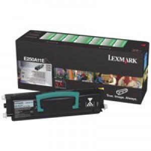 Lexmark E250D/E250DN/E350D/E352DN/E450DN Return Programme Toner Black E250A11E