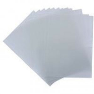 Acco GBC A4 Polypropylene Clearview Binding Covers Frosted Clear Pack of 50 IB387159