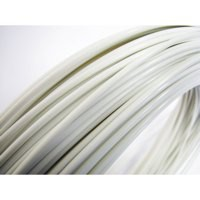 Faberdashery White PLA 3D Printing Filament 1.75mm (100m Spool) 76 ARCTIC White