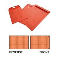 New Guardian Intertac Internal Mail Envelopes Pocket Resealable Manilla Orange C4 [Pack 250]