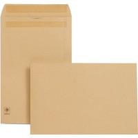 New Guardian Envelopes Heavyweight Pocket Press Seal Manilla 381x254mm [Pack 250]