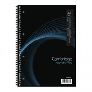 Cambridge Business Notebook A4 200 Pages 100082373