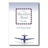 Basildon Bond Airmail Envelope Blue Pack of 20 100080079