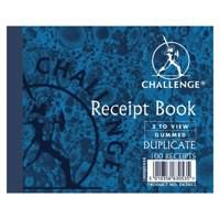 Challenge Duplicate Book Receipt 105x130mm 100080444