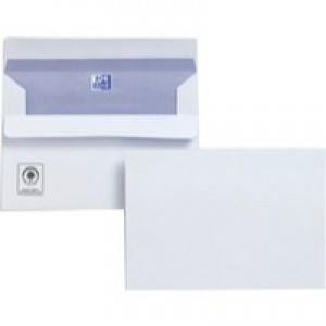 Plus Fabric Envelope C6 110gsm White Self-Seal Pack of 500 F23470