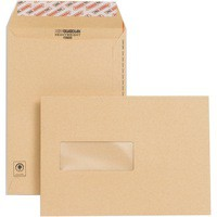 New Guardian Envelope Easy-Open C5 Window 130gsm Manilla Pack of 250 F26639