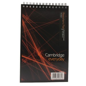Cambridge Spiral Notebook 5x8 inches 80 Leaf Ruled Feint Head Bound H79011