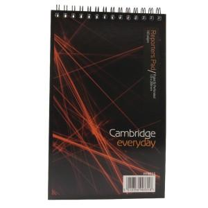 Cambridge Spiral Notebook 5X8 Inches 80 Leaf Ruled Feint Head Bound (Pk 10) 100080496