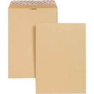 New Guardian Envelope Easy-Peel C4 130gsm Manilla Pack of 250 J26339