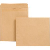 New Guardian Envelope 330x279mm 125gsm Manilla Self-Seal Pack of 250 J27219