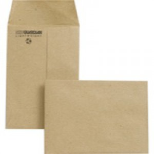 New Guardian Envelope 98x67mm 80gsm Manilla Gummed Pack of 2000 M24011