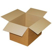 Jiffy Single-Wall Carton 127x127x127mm Pack of 25 SC-01