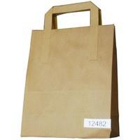 Image for Paper Takeaway Bag Brown Pk250