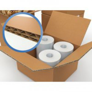 Jiffy Double-Wall Carton 457x457x457mm Pack of 15 SC-63