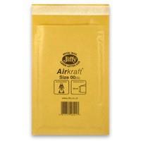 Jiffy AirKraft Bag Gold 115x195mm Pack of 100 JL-GO-00