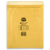 Jiffy AirKraft Bag Gold 205x245mm Pack of 100 JL-GO-2