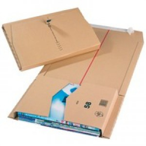 Mailing Box 380x285x80mm Pack of 25 JBOX-67