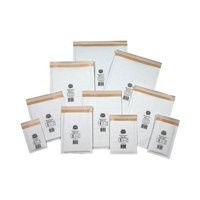 Jiffy Mailmiser Protective Envelopes Bubble-lined No 00 White 115x195mm Ref JMM-WH-00 [Pack 100]