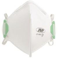 JSP Fold Flat Disposable Vertical Mask FFP1 211 White Code BEA110-101-000