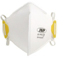 JSP Fold Flat Disposable Vertical Mask FFP2 221 White BEA120-101-000