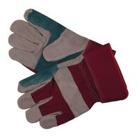 Image for Grey/Blue/Red H/Duty Rigger Gloves Pk12