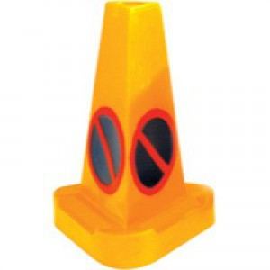 JSP Cone No Waiting Weighted Yellow 0555001