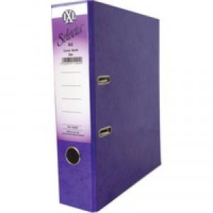 Concord IXL Selecta Lever Arch File A4 Purple Code 162287