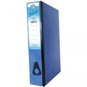Concord IXL Selecta Box File Foolscap Blue 264152