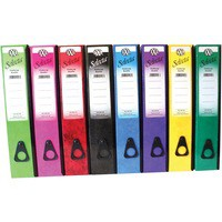 Concord IXL Selecta Box File Foolscap Assorted Pack of 10 264199