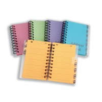 Image for Concord Bright Colours Telephone/Address Book A-Z Assorted Pack of 5 CV60199