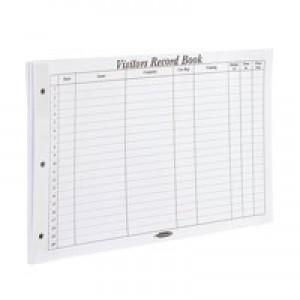 Concord Visitors Book Refill 50 Sheets 85801/CD14P