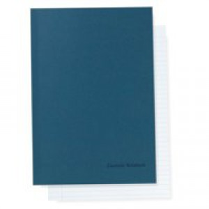 Cambridge Counsels Notebooks Perforated Ruled 96pp A4 Blue Ref 100105941 [Pack 10]