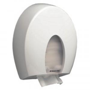 Aqua Folded Hand Towel Dispenser White 6973