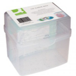 Q-Connect CD Jewel Case Storage Box Capacity 60 KF00140
