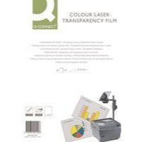 Image for Q-Connect Colour Laser OHP Film Pack of 50