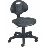 Jemini Factory Chair PU Black
