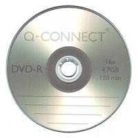 Q-Connect DVD-R Cakebox Pack of 25