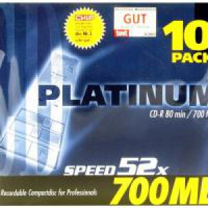 Q-Connect CD-R 700Mb/80minutes in Slim Jewel Case Pack of 10 KF00419