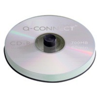 Image for Q-Connect CD-R 700Mb/80minutes Spindle Pack of 50