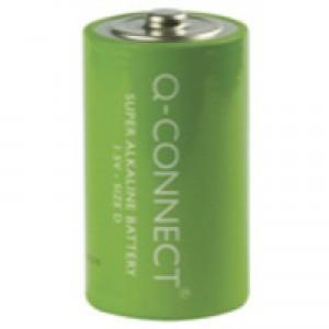 Q-Connect Battery D Pk 2 KF00491