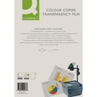 Q-Connect Laser Copier Film Colour A4 Pk 50