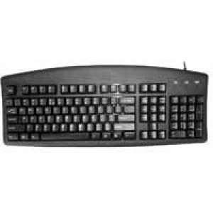 Q-Connect Keyboard Black KF00779