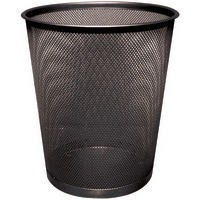 Q-Connect Waste Basket Mesh Black