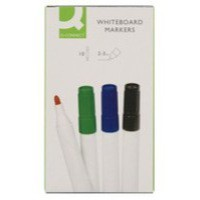 Q-Connect Dry Wipe Marker Assorted Pack of 10