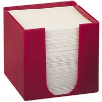 Q-Connect Memo/Jot Box Red
