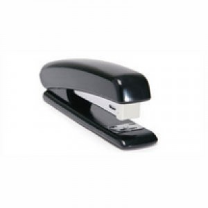 Q-Connect Plastic Stapler Full Strip Black