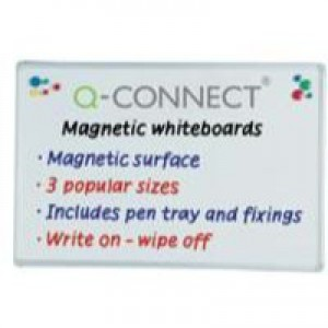 Q-Connect Magnetic Dry Wipe Board 1200x900mm