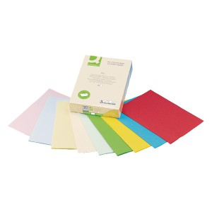 Q-Connect Coloured Copier Paper A4 80gsm Cream Ream